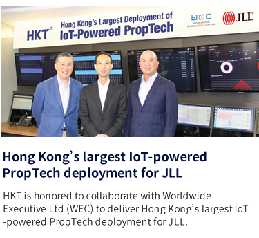 Hong Kong's largest IoT-powered PropTech deployment for JLL
